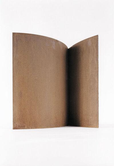 Erich Reusch, 'Modell für eine Skulptur aus Corten-Stahl - Zwei Halbbögen', 1992