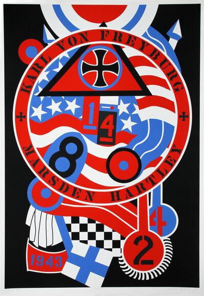 Robert Indiana, 'The Hartley Elegies: The Berlin Series - KvF II', 1990