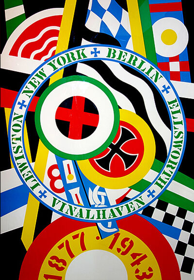 Robert Indiana, 'The Hartley Elegies: The Berlin Series - KvF 4', 1990