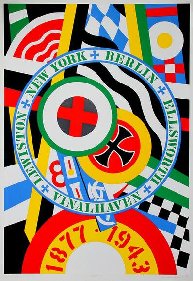Robert Indiana, 'The Hartley Elegies: The Berlin Series - KvF IV', 1990