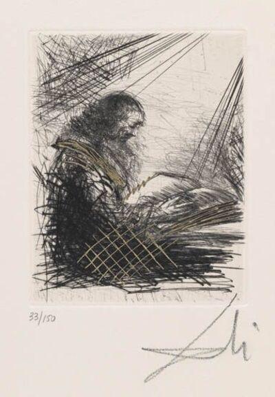 Salvador Dalí, 'Reading Faust', 1968