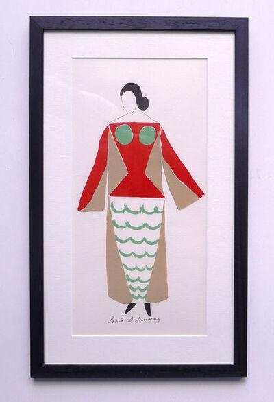 Sonia Delaunay, 'Costume Design for Jacqueline Chaumont 1969', 1977