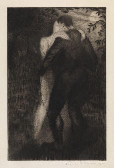 Christopher Richard Wynne Nevinson, 'Lovers', 1919