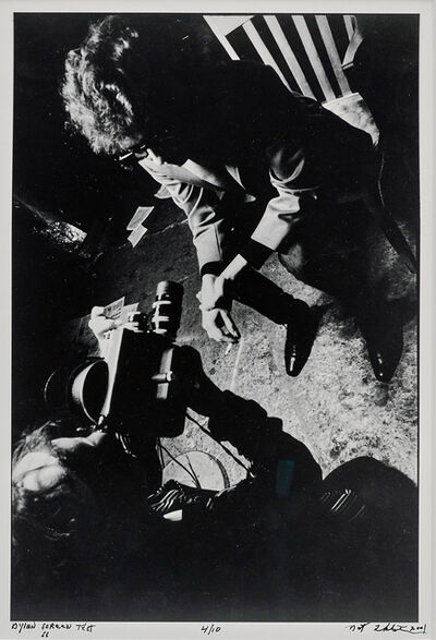 Nat Finkelstein, 'Dylan Screen Test', 1966