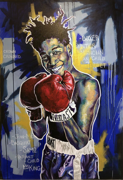 Robert Peterson, 'SAMO (Basquiat)', 2019