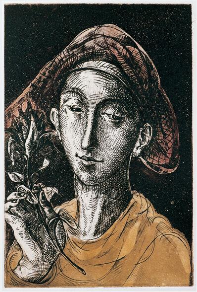 Traian Filip, 'Angel with Flower ', 1992