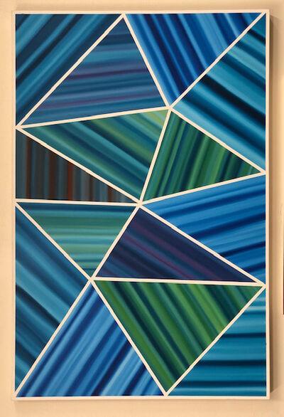 Louis Vega Treviño, 'Kinetic Oceans', 2018