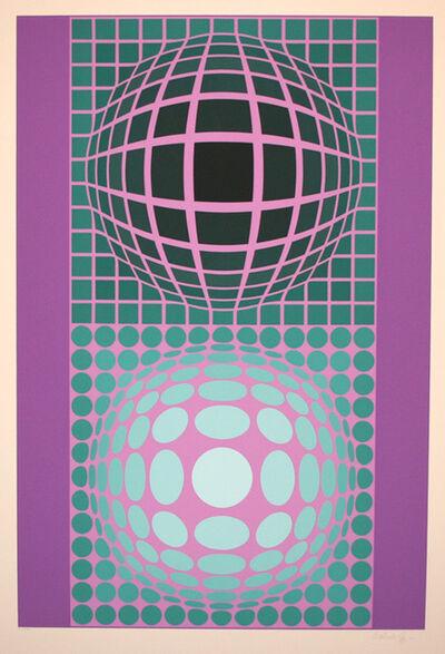 Victor Vasarely, 'Double Vega', 1987
