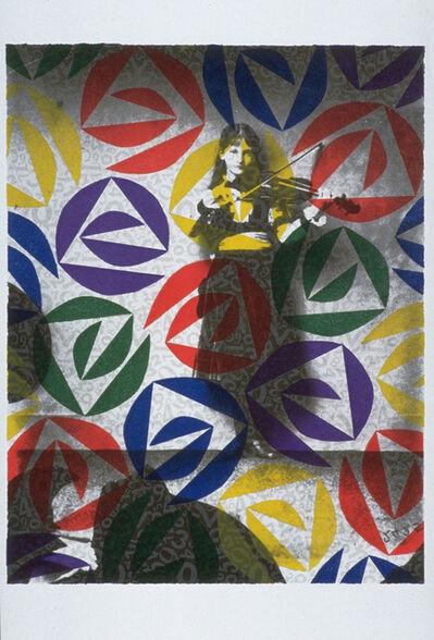 Paul Laster, 'Jocular Sounds (Violinist)', 1992