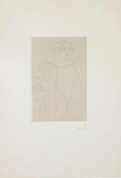 Henri Matisse, 'Figure assise, le bras droit appuyé sur une table ', 1929