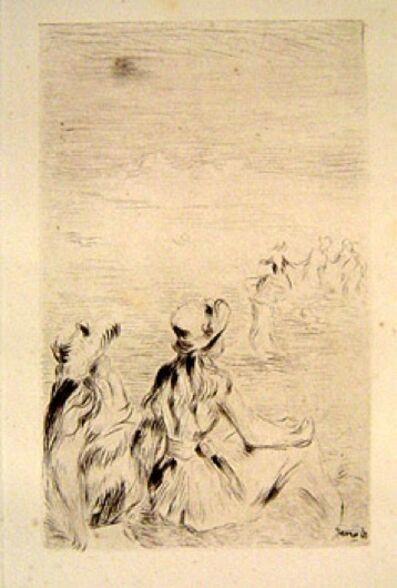 Pierre-Auguste Renoir, 'Sur La Plage, A Berneval', 1919