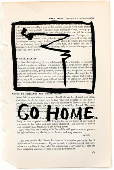RF Alvarez, 'Go Home', 2015