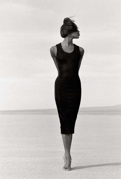 Herb Ritts, 'Naomi - Close Fit 1, El Mirage', 1988