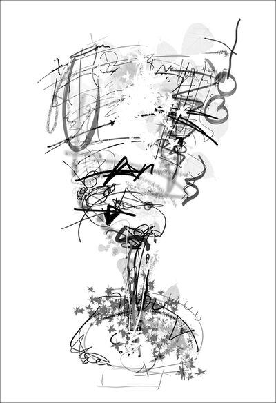 Roz Dimon, 'POUR THE CHAMPAGNE, Hail Plastic', 2016