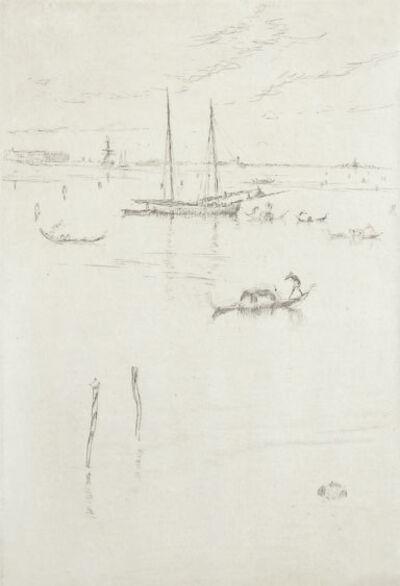 James Abbott McNeill Whistler, 'The Little Lagoon', 1879-1880
