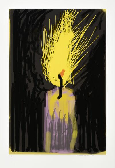 David Hockney, 'Flame', 2009