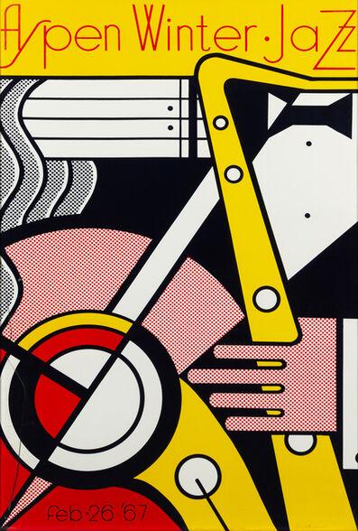 Roy Lichtenstein, 'Aspen Winter Jazz', 1967