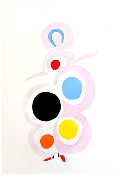 """Sonia Delaunay, 'Original Pochoir """"27 Living Paintings XVIII"""" by Sonia Delaunay', 1969"""