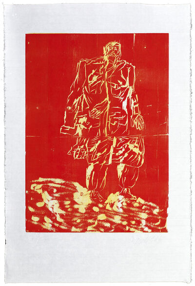 Georg Baselitz, 'Mantel from Remix', 2007