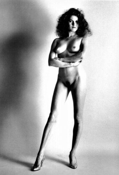Helmut Newton, 'Big Nude II, Paris', 1980