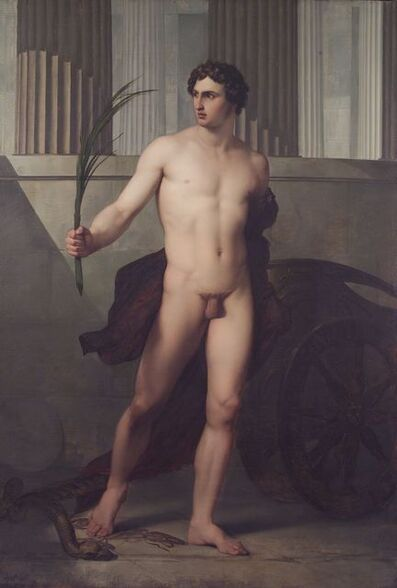 Francesco Hayez, 'Triumphing athlete', 1813