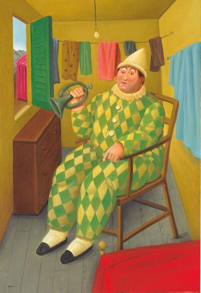 Fernando Botero, 'Clown in his trailer', 2007
