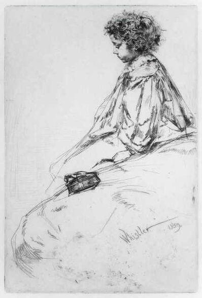 James Abbott McNeill Whistler, 'Bibi Lalouette', 1859