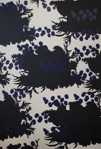Stephen D'Onofrio, 'Wallpaper Series - Black Flower Print', 2017