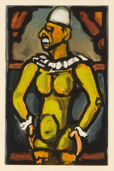 """Georges Rouault, 'Triste Os from """"Cirque de l'Etoile Filante""""', 1934"""