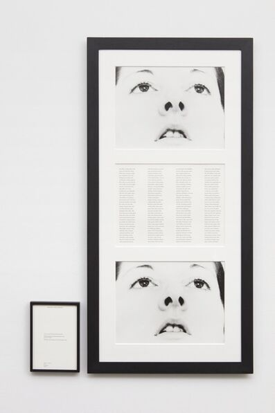 Marina Abramović, 'Freeing the Memory', 1975;  publ. 1994