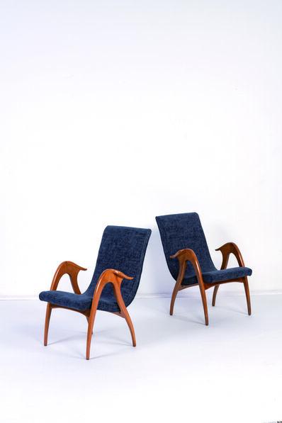 Malatesta & Mason, 'Pair of armchairs', vers 1950
