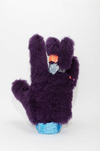 Francis Upritchard, 'Purple Muppet Hand', 2018