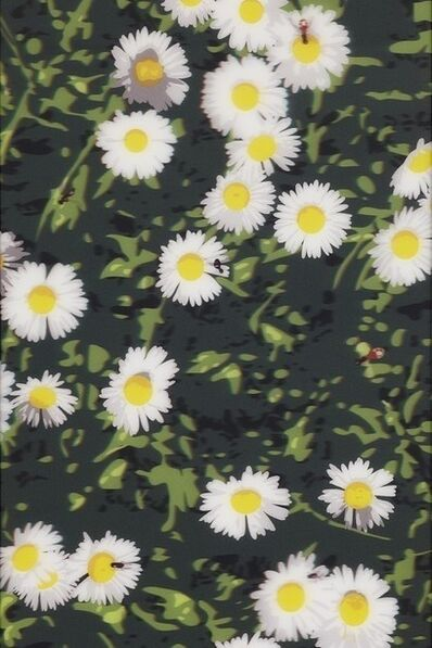 Julian Opie, 'French Landscapes: Daisies', 2013