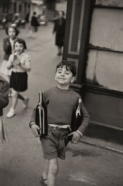 Henri Cartier-Bresson, 'Rue Mouffetard, Paris', 1952