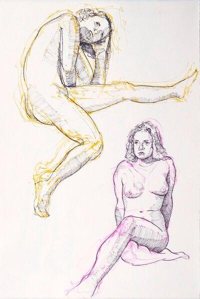 Aaron Brooks, 'Double Figure Study', 2014