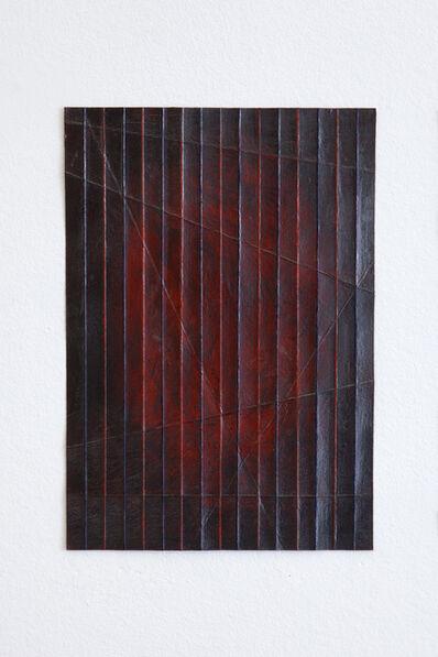 Takayuki Daikoku, 'Folded Drawing-red-blue (01-2017)', 2017