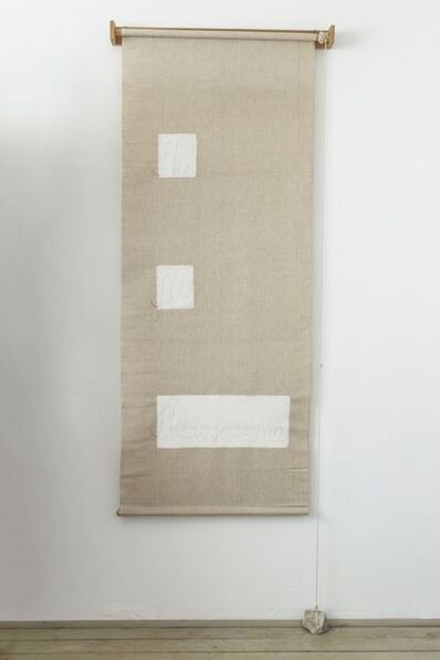 Maria Pinińska-Bereś, 'Blind (Roleta)', 1982