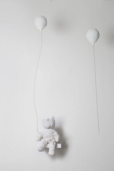 "Ivy Naté, 'Sculpture: ""Bear with Balloons'', 2018"