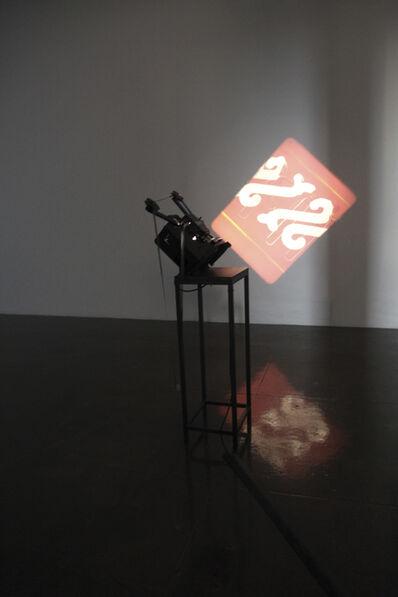 Rosa Barba, 'The Long Poem manipulates spatial Organizations', 2014