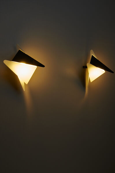Jean Boris Lacroix, 'Pair of sconces 302', 1957