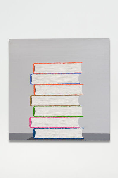 Alec Egan, 'Stack of Books #2', 2017
