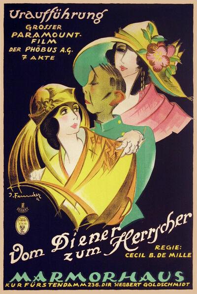 Josef Fenneker, 'Cecil B. De Mille - Vom Diener Zum Herrscher - Servant of Rules', 1922