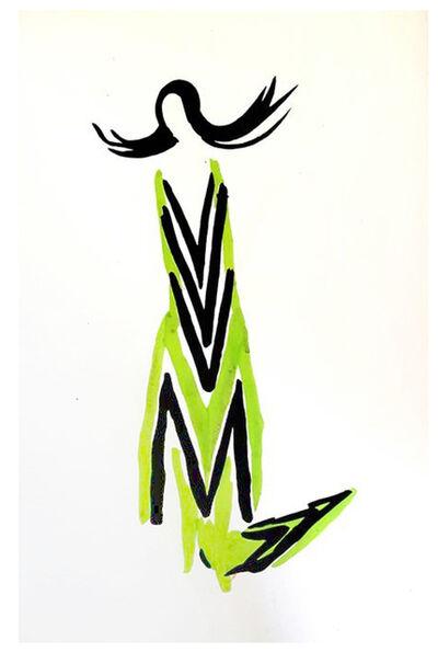 """Sonia Delaunay, 'Original Pochoir """"27 Living Paintings XVII"""" by Sonia Delaunay', 1969"""