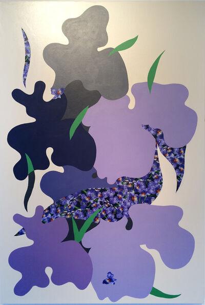 Stephen D'Onofrio, 'State Flower Iris', 2016