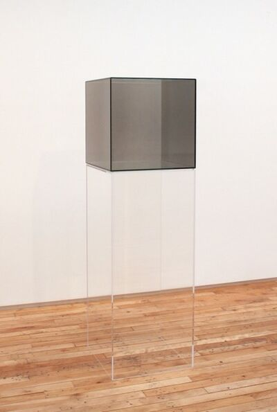 Larry Bell, 'Cube #38 (green)', 2007