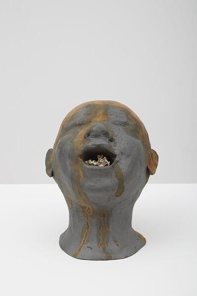 Giovanni Ozzola, 'Una testa e un universo senza titolo, 2', 2015
