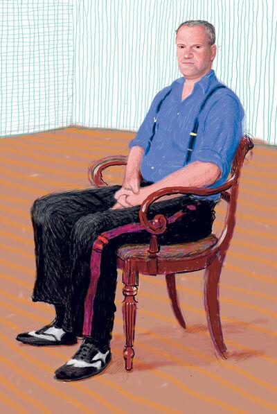 David Hockney, 'John Fitz-Herbert Monday 24th November ', 2008