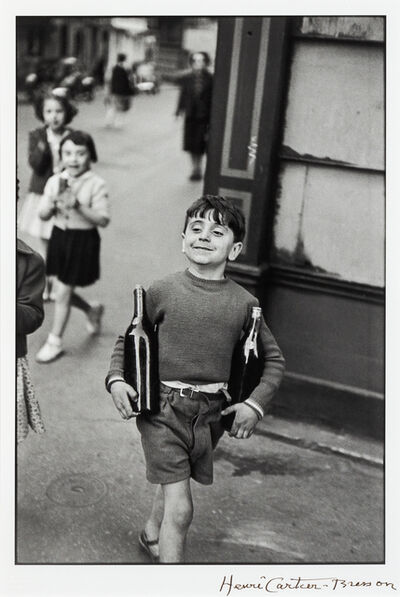 Henri Cartier-Bresson, 'Rue Mouffetard, Paris', 1954