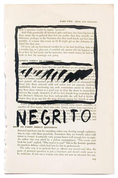 RF Alvarez, 'Negrito', 2015