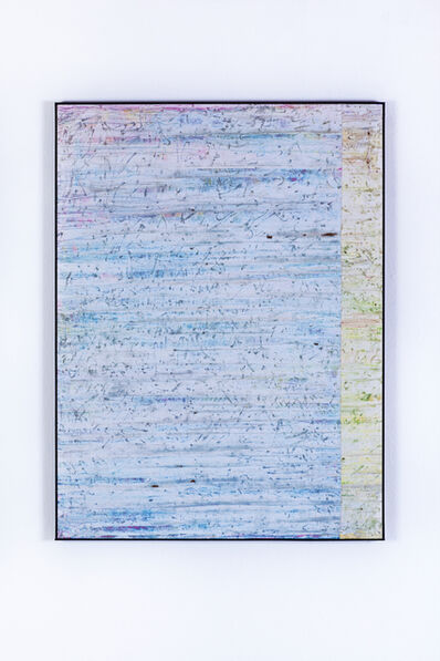 Gijs van Lith, 'Temporary is the New Forever (Swipe Painting) No. 2', 2015